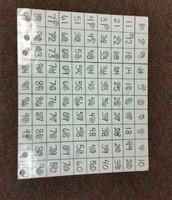 100's grid