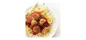 Vegan Spaghettie and Meatballs
