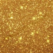 golden glitter is so pritty.