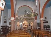 Inside a Christian Church