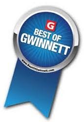 BEST OF GWINNETT....yes we are!