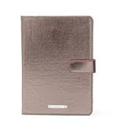 Mini ipad case (pewter metallic) $20