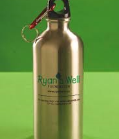 Steel water container