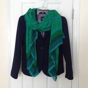 Palm Springs Scarf Turquoise - Sale Price $18, Retail Price $59