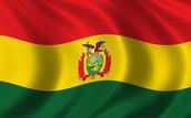 La Paz, Bolivia bandera nacional