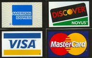 Where can you use credit cards