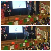 Our two Pillow tshirt design winners announced at assembly this morning!