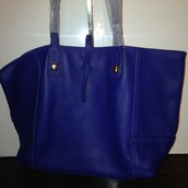 Paris Market Tote - Bright Cobalt