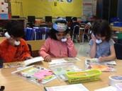 Reading groups using whisper phones