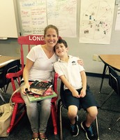 Thank you Suzanne Silverman for being Mystery Reader on Sept. 25