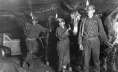 1.working in the coal mine were bad