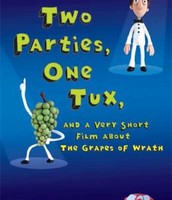 Two parties, one tux, and a very short film about the Grapes of wrath by Steven Goldman