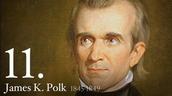Painting of James Polk