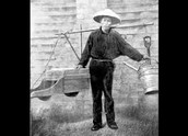 Chinese Miner Carrying the Cradle