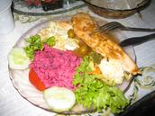 Christmas El Salvador food