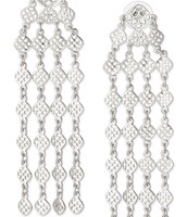 Devon Earrings Silver