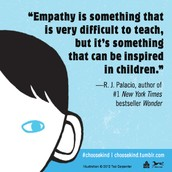 Wonder by R.J. Palacio is a book about kindness and compassion.