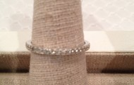 ETERNITY BAND SILVER SIZE 7