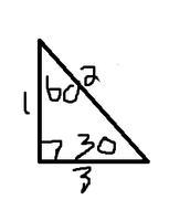 30-60-90 degree triangles