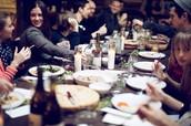 5/7 - Lunch to International Dinner
