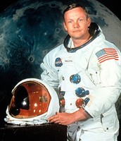 First man on the moon (Neil Armstrong)
