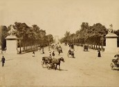 When Les Champs-Elysées was first constructed.