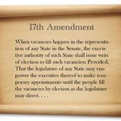 37. 17th Amendment