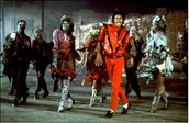 "His most famous song is ""Thriller"""