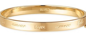 Inspiration Bangle- Gold