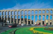 Aqueducts in Segovia