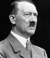 Hilter while he was fuhrer of Germany