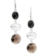 Mila Triple Drops - Silver - $19.60