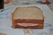 un sandwich le jambon