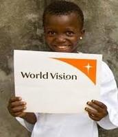 Niño pequeno apoyo World Vision.