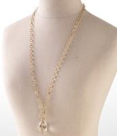 Snake Orb Necklace