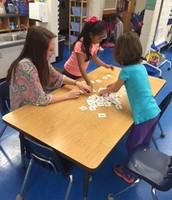 Memory Game at Indoor Recess.