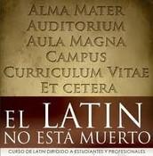 Aunque la mayoria de la gente no lo sepa... El latin esta en nuestra lengua diaria y lo hablamos mas seguido de lo que algunos piensan