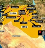 Isis controlled areas