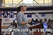 Kristy Moore- Candidate for NCAE Vice President