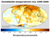 10 gevolgen van de opwarming van de aarde.