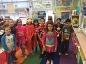 School Spirit ~ Superhero