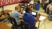 Students Utilize Technology!