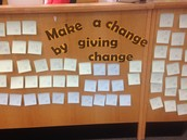 Make a Change by Giving Change
