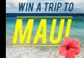Win Trip For 2 To Maui!