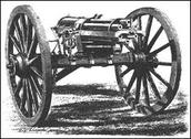 1800s Gatling gun