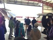 Guardian Flight Tour - airplane portion