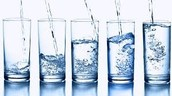 We should drink about 8-15 8oz glasses of water each day