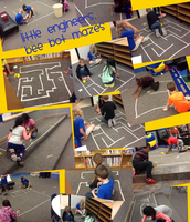 Beebot maze challenge