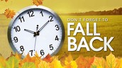 Change Your Clocks this Weekend!