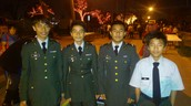 ROTC Particpates in Festival of Lights